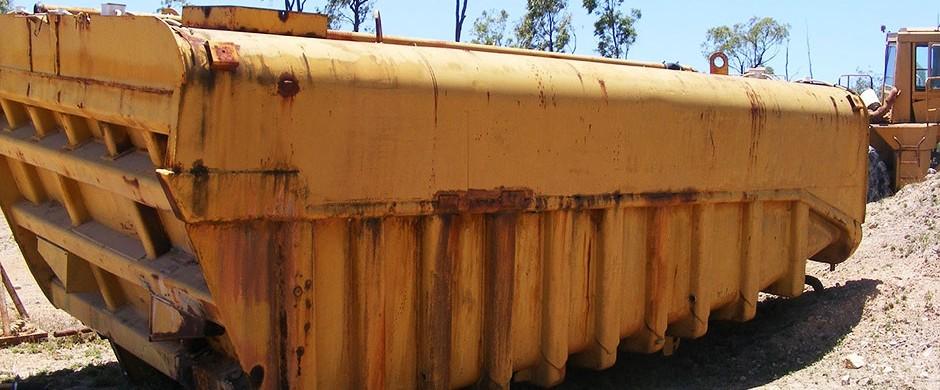 Cat 773 Water Tank